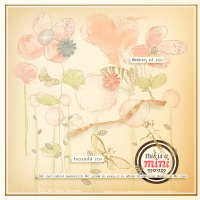 {all about flowers} mini kit