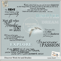 Discover WordArt and Brushes