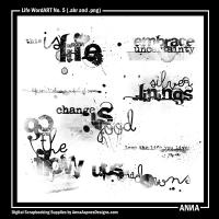 Life WordART No. 5