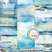 Somewhere Near the Sea Backgrounds 2 by Lorie Davison