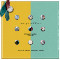 {dreamCatcher} button set