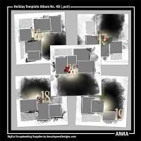 Holiday Template Album No. 4D