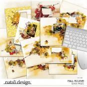 Fall in Love Quick Pages