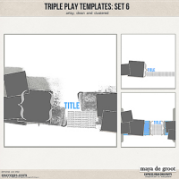 Triple Play Templates: Set 6