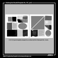 FotoInspired DoubleTemplate No. 45