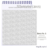 52 Inspirations :: 2015 {Bonus No.5}