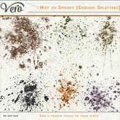 Not So Spooky Sequin Splatters by Vero