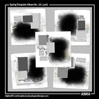 Spring Template Album No. 1A