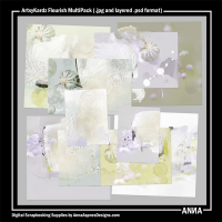 ArtsyKardz Flourish MultiPack