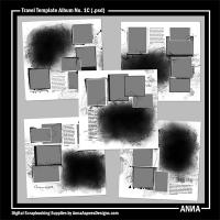 Travel Template Album No. 1C