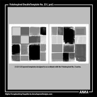 FotoInspired DoubleTemplate No. 23