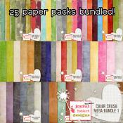 Color Crush Solids MEGA pack 1