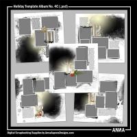 Holiday Template Album No. 4C
