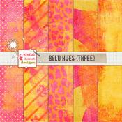 Bold Hues (three)