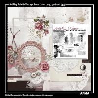 ArtPlay Palette Vintage Rose