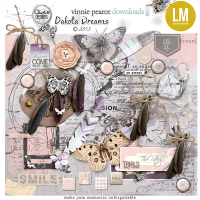 {dakotaDreams} collab kit with Vinnie Pearce and Lynne-Marie