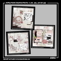 Artplay Palette ValuePack Pink No. 1
