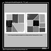 FotoInspired DoubleTemplate No. 73