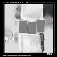 Artsy Layered Template No. 115