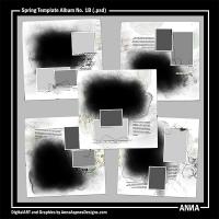 Spring Template Album No. 1B