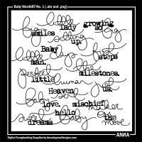 Baby WordART No. 1